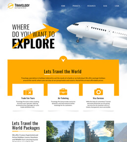 Landing page example 2